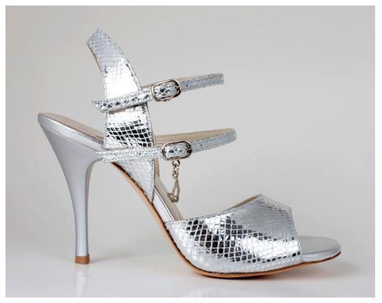 Pantofi tango turqoise